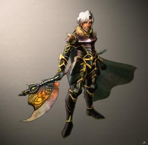 幻魔王装備+スサノオ(白騎士)(201010)