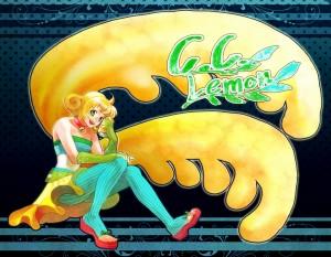 C.C.レモンちゃん擬人化(コンテスト用)(201206)
