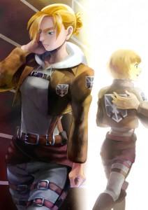 進撃の巨人 アルミンとアニ(201308)