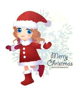 2014メリークリスマス!アントーニア・プロストさんた